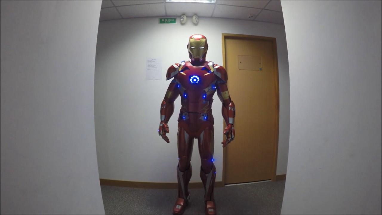 Full 3D Printed Iron Man Mark 46 Suit