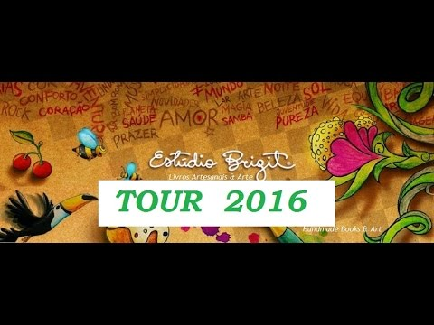 Estúdio Brigit - Tour 2016 - VIDEO