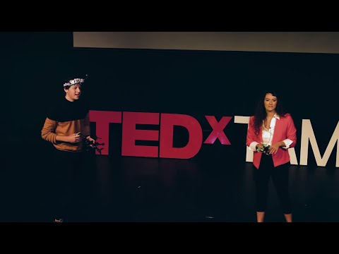 Space For Humanity: The Liberating Truth About Drones   Nick Madincea & Marjorie Ferrone   TEDxTAMU
