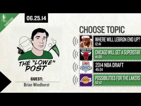 Zach and Brian Windhorst Talk About LeBron, Free Agency and the Draft   Lowe Post 06 25 14