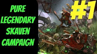 Pure Legendary Skaven Campaign #1 (Queek) -- Total War: Warhammer 2