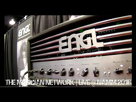 ENGL AMPLIFICATION - NAMM 2016 - The Search for The Ultimate Guitar Tone!!!