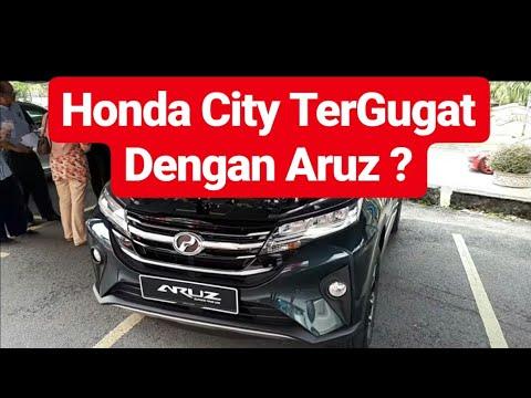 Walkaround Perodua Aruz Mampu Menggugat Honda
