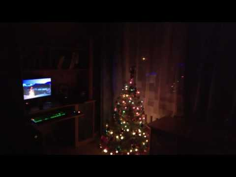 Musical Christmas lights in my room
