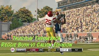 Thursday Throwback NCAA 14 (Reggie Bush vs Calvin Johnson!)