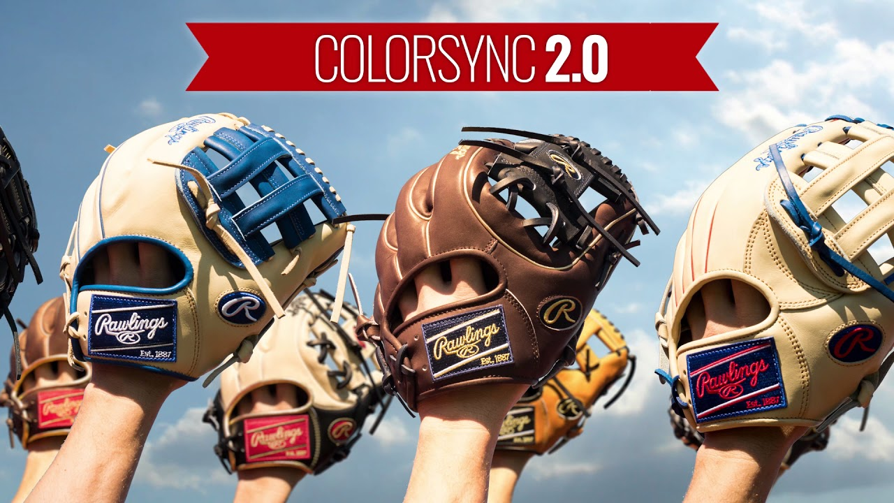 Rawlings 2017 Colorsync 2 0 Gloves