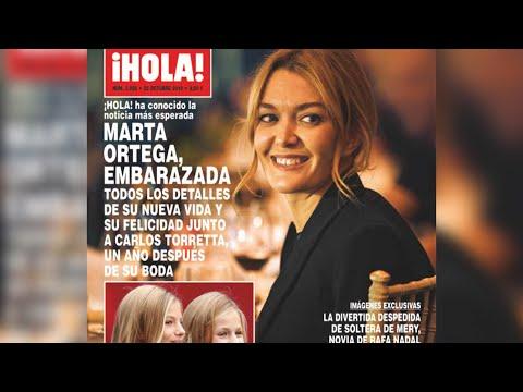 Nuevo heredero en Inditex: Marta Ortega, embarazada