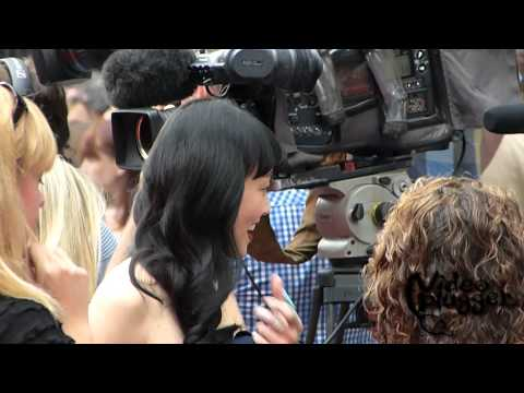 Rila Fukushima attending the UK Premiere of  The Wolverine at Leicester Square