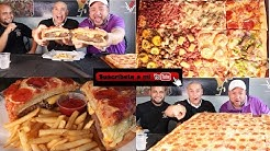 Hamburger y Pizza o PizzaBurger en  El Paseo Restaurant - Vlog #83