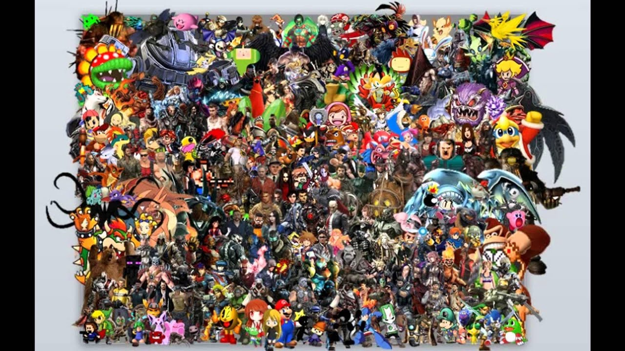 Amazing Video Game Character Collage - YouTube