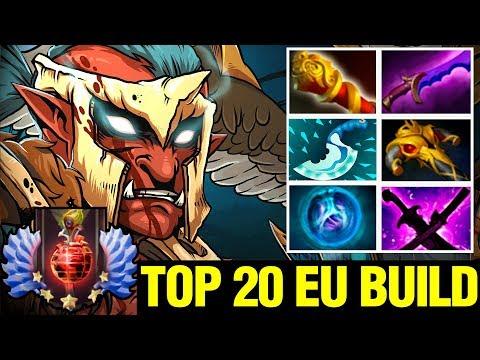 Top 20 EU Build To Troll Warlord - ITWL WITH 200 IQ BUILD - Dota 2