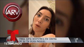 No te metas: Frida Sofía arremetió contra Sylvia Pasquel | Al Rojo Vivo | Telemundo