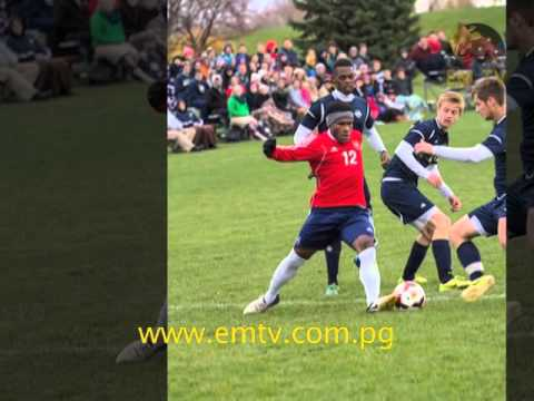 PNG's Wira Wama Scores 10th Goal At National Christian College Athlete Association Midwest Champs