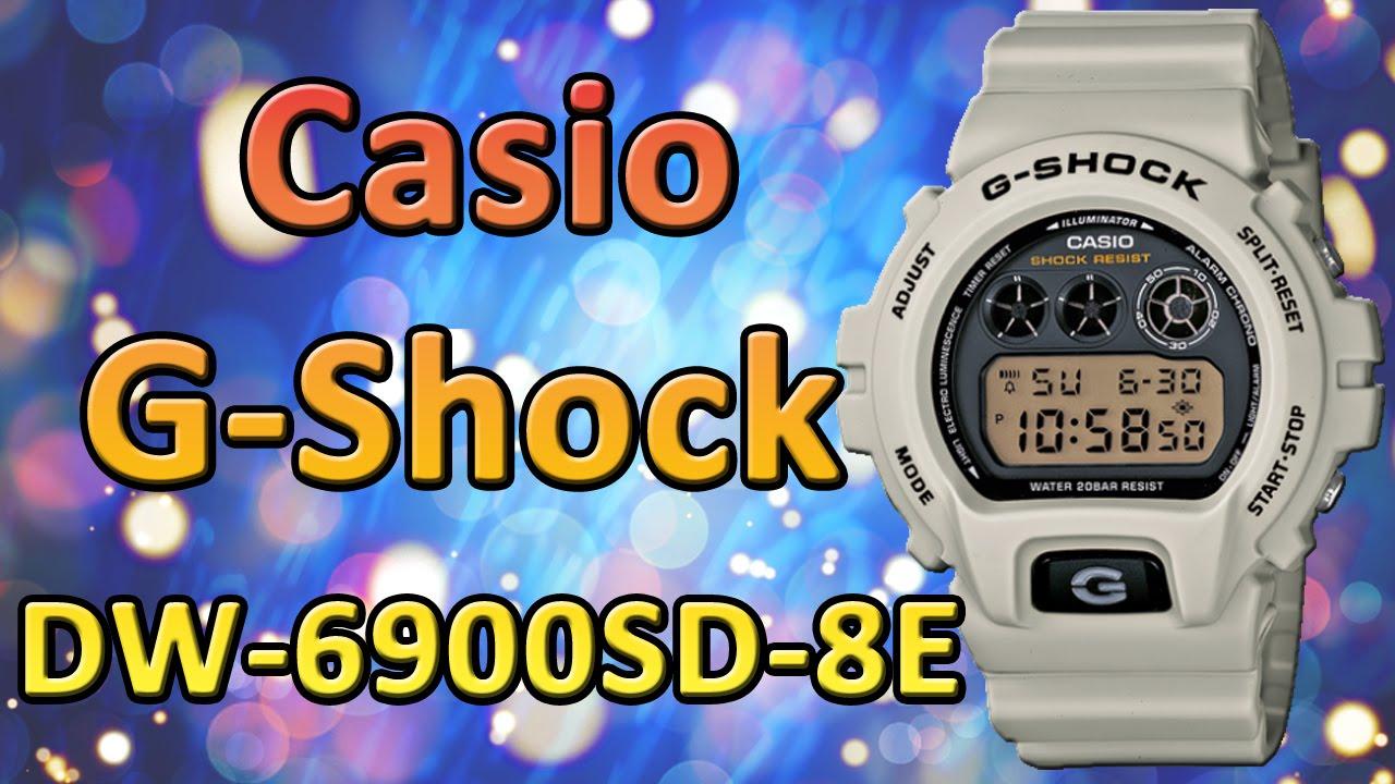 Мужские наручные часы Casio G-Shock DW-6900SD-8E купить в Москве .