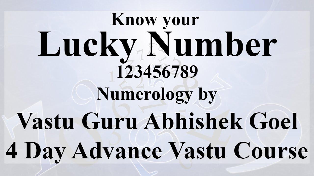 Numerology | Advance Vastu Course | Power of Numbers