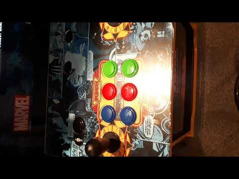 Marvel Super-Heroes Arcade 1Up from Genuine Article Comics