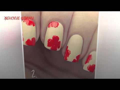 Дизайн ногтей маки фото -