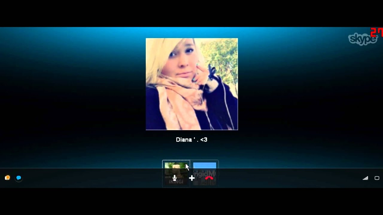 Girls skypes