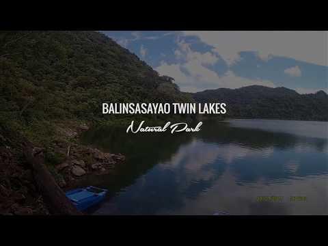 Balinsasayao Twin Lakes Natural Park Negros Oriental Philippines