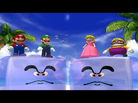 Mario Party 4 - All Silly Minigames