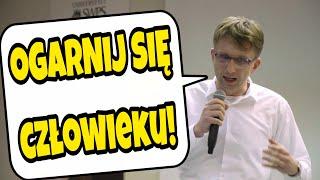 OGARNIJ SIĘ CZŁOWIEKU - Cezary Graf na spotkaniu kanału DLA PIENIĘDZY