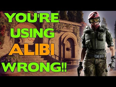 You're Using Alibi Wrong! || Rainbow Six Siege Tips