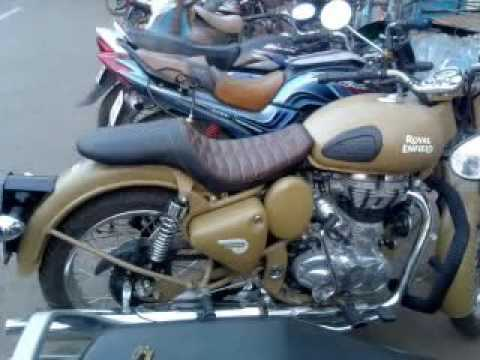 Modification Seats Of Royal Enfield Of Hardley Youtube