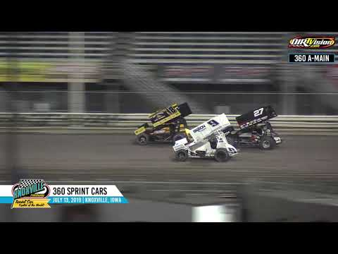 Knoxville Raceway 360 Highlights - July 13, 2019