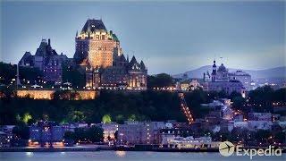 Si estás pensando en unas vacaciones a Quebec, Canadá, este vídeo c...