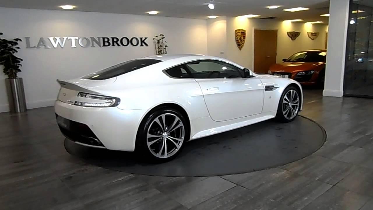 Aston Martin V12 Vantage White With Black Lawton Brook Youtube