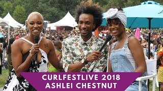 CURLFESTLive 2018: Actress Ashlei Chestnut's First Curlfest!