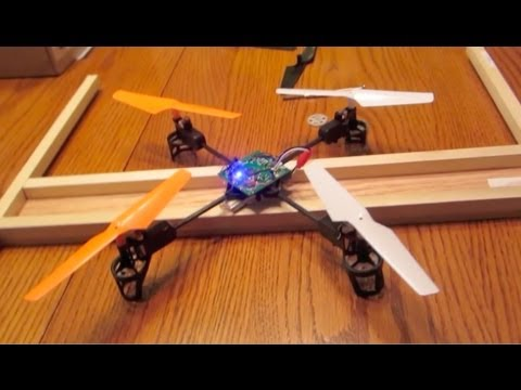 how to learn fly quadcopter los