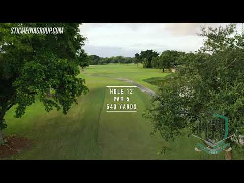The Full Course Flyover For The Country Club Of Coral Springs