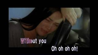 Without You (Videoke/Lyrics/Instrumental/Karaoke-HD)D.Guetta ft. Usher