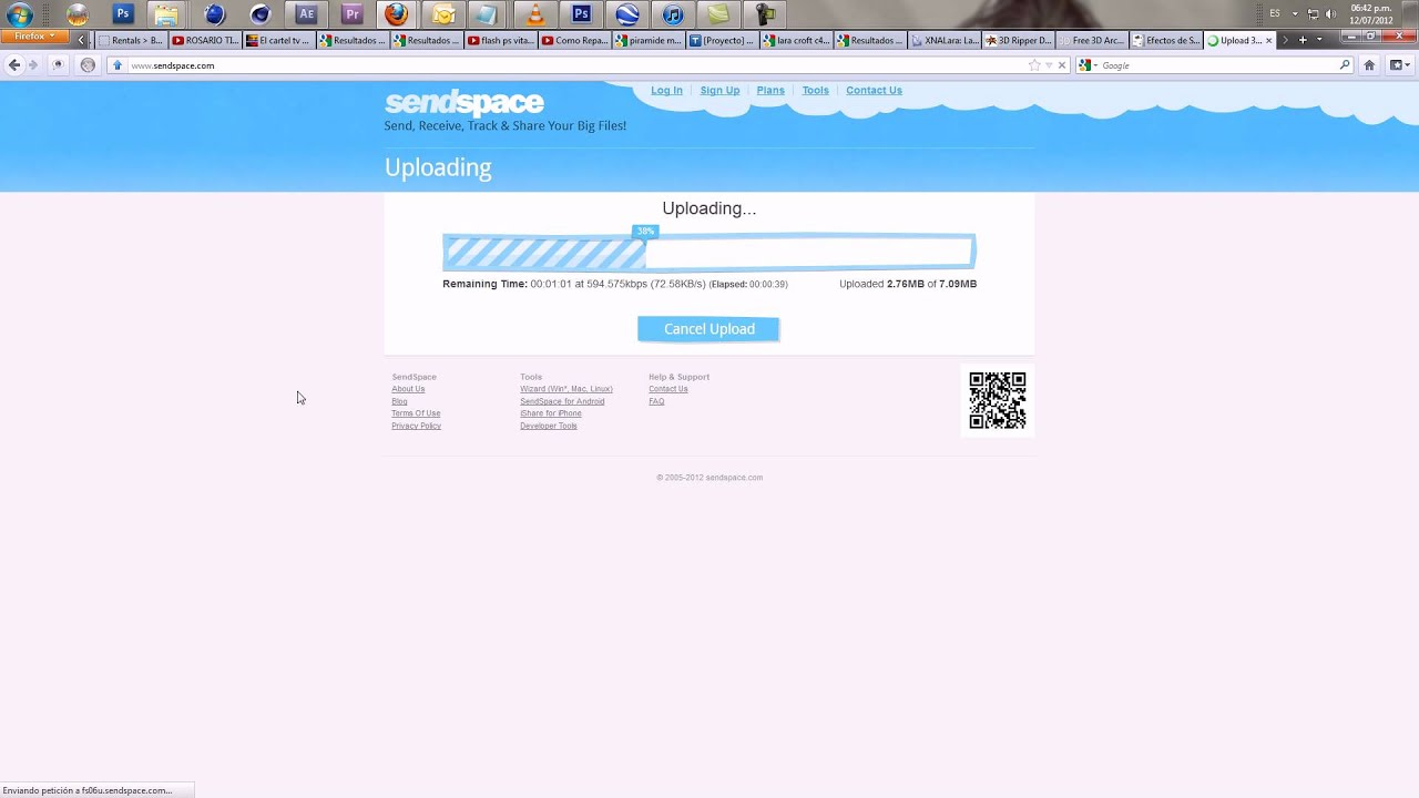 Send Large Files - Free Accounts Easy Secure File Sharing