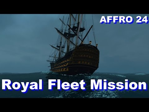 Naval Action - Commodore Fleet Mission with Royal Victory and L'Ocean