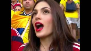 Colombian babe at the FIFA World Cup 2014