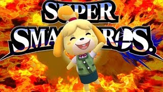 Massive News: Isabelle Animal Crossing Playable in Smash Ultimate Rumor & New Left D pad Joy-Con