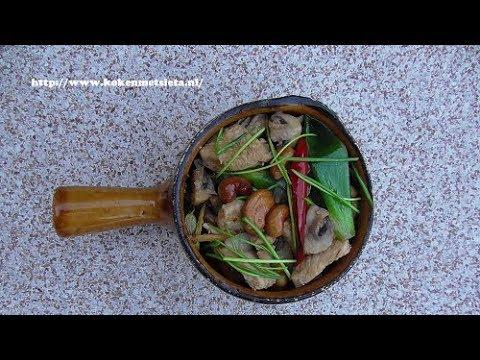 Kipfilet met cashewnoten (Kip Siam style)