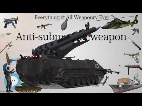 Anti submarine weapon (Everything WEAPONRY & MORE)💬⚔️🏹📡🤺🌎😜✅