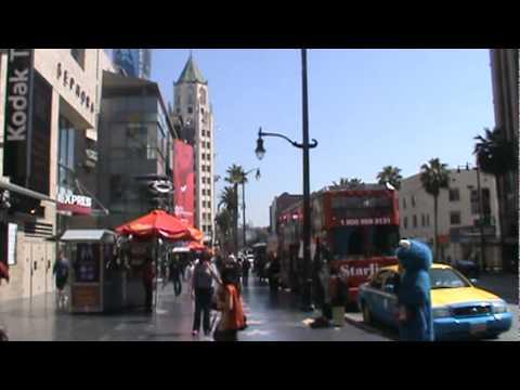 Kodak Theatre Hollywood Boulevard  Los Angeles California