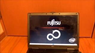 fujitsu fmv biblo nf a70 ジャンク品 開封 動作確認動画