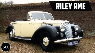 RILEY RME Convertible 1954 - Modest test drive - Engine sound | SCC TV