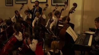 Bromsgrove Prep School - Double Basses, Year 3 Strings Concert 24th November 2016