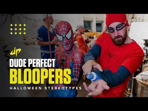 Halloween Stereotypes (Bloopers & Deleted Scenes) - Dude Perfect Plus