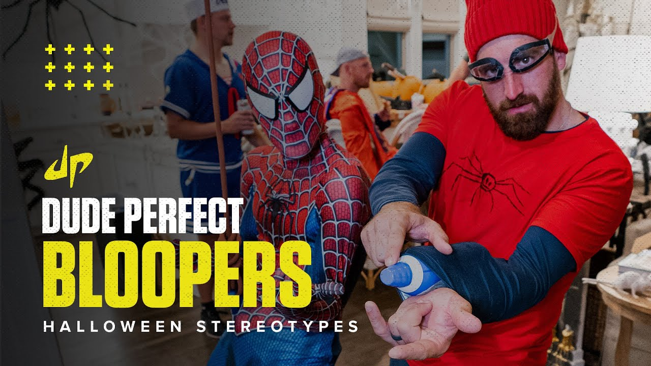 Halloween Stereotypes (Bloopers & Deleted Scenes)   Dude Perfect Plus