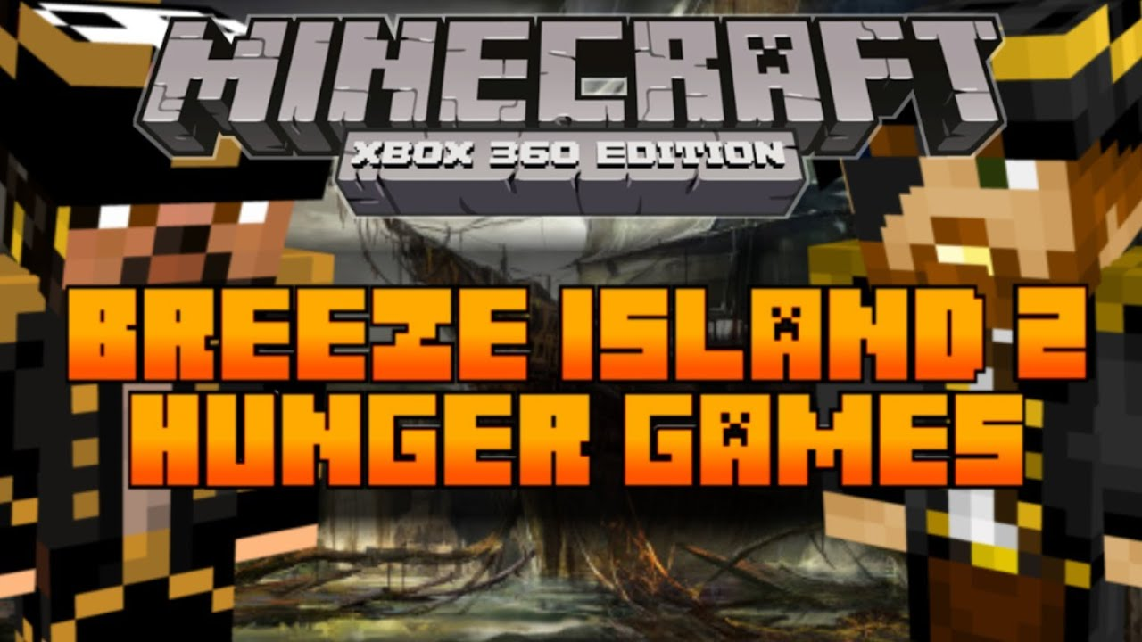 Xbox 360 Hunger Games : Minecraft xbox the hunger games map breeze island