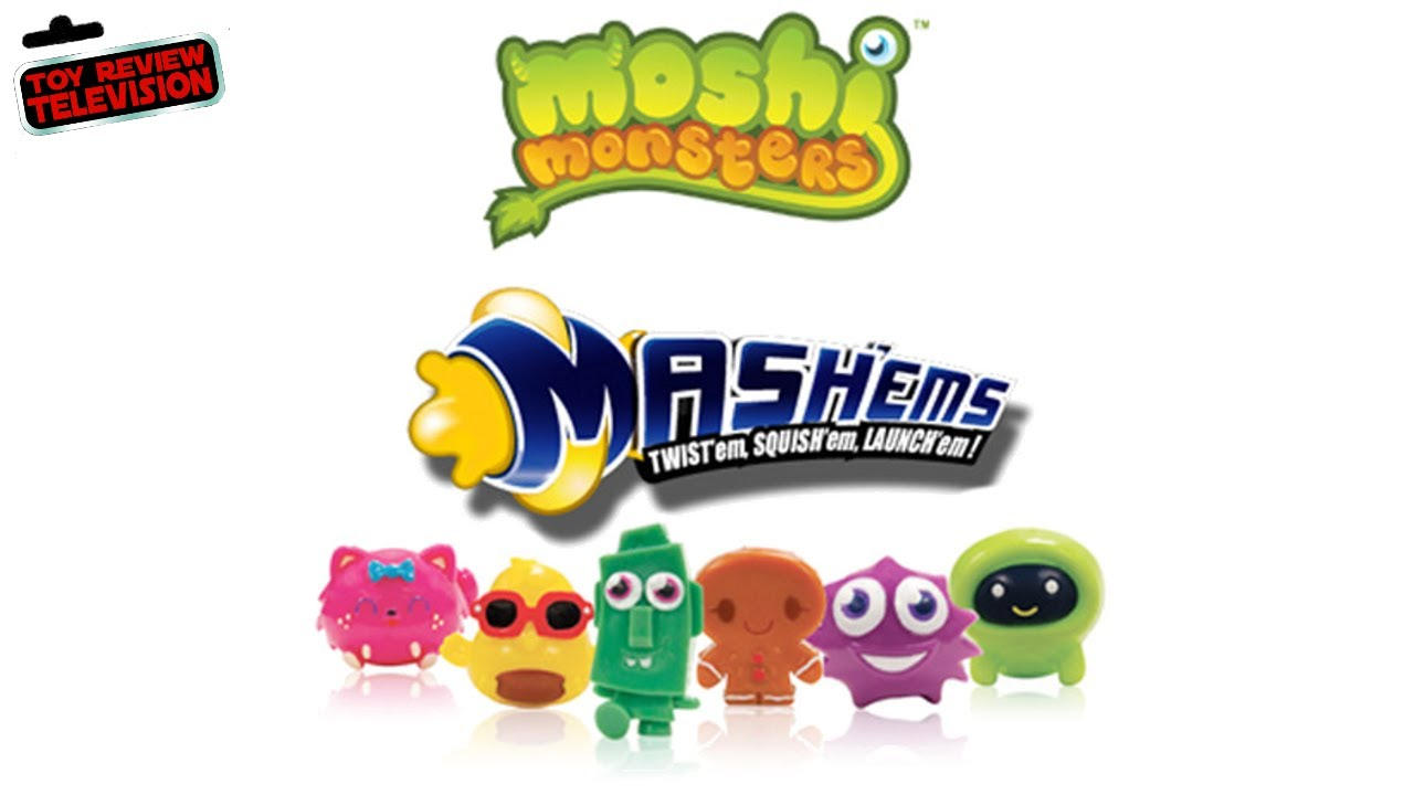 Mash Ems Moshi Monsters Series 2 Blind Bags Toy Review