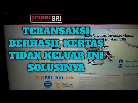 TRANSFER STRUK TIDAK KELUAR INI SOLUSINYA JIKA MAU BUKTI TRANSFER; BRILINK/ATM