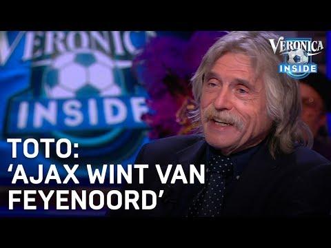 Toto-voorspelling: 'Ajax wint van Feyenoord' | VERONICA INSIDE